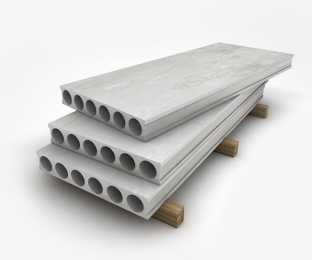 Blocchi di costruzione in calcestruzzo icona del blocco di cemento utilizzata per la costruzione illustrata