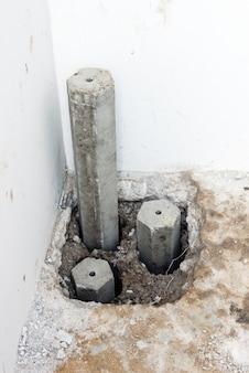 Palo di cemento