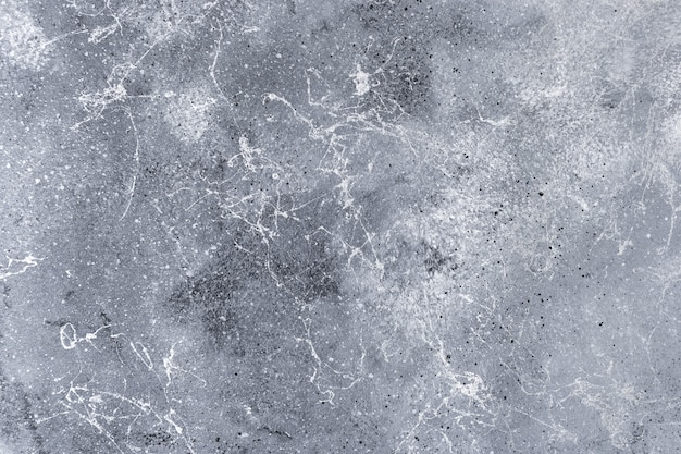 Struttura della superficie in calcestruzzo con un'area graffiata esposta all'aria per lo sfondo o la decorazione.
