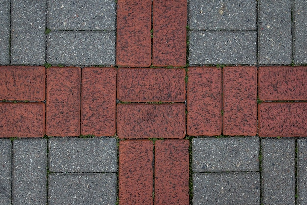 Struttura delle mattonelle di cemento