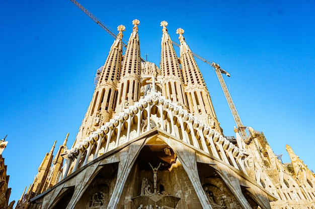 Basilica construccion sagrada familia