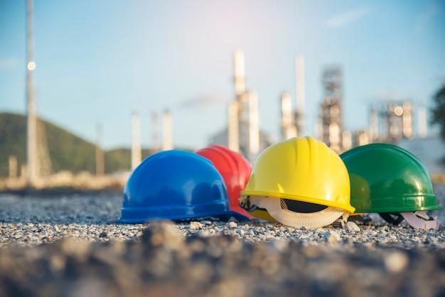 Attrezzatura per strumenti di sicurezza per elmetti da costruzione per lavoratori in cantiere per ingegneria