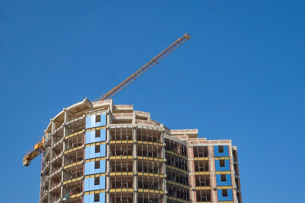 Costruzione di edifici moderni