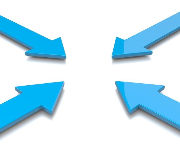 Frecce convergenti