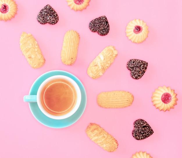 Biscotti e caffè