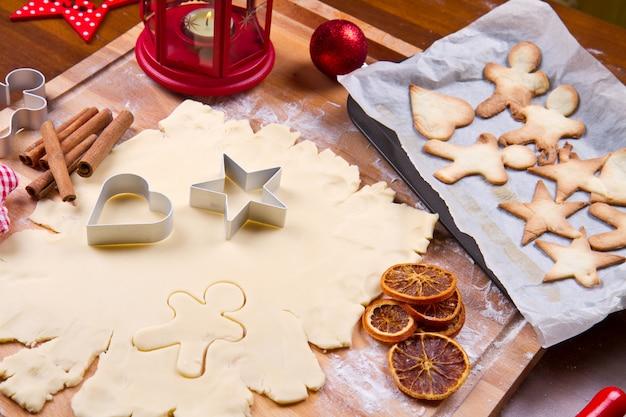 Biscotti fatti in casa per natale