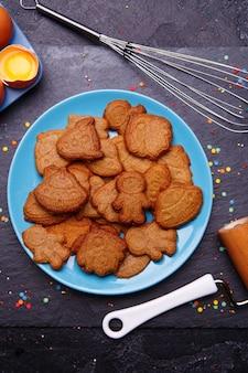 Biscotti a forma di razzo