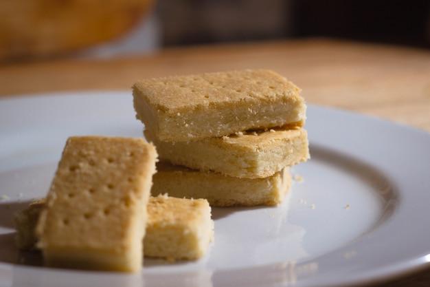 I biscotti da forno sono salati e buonissimi