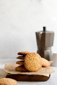 Biscotti con semi di sesamo
