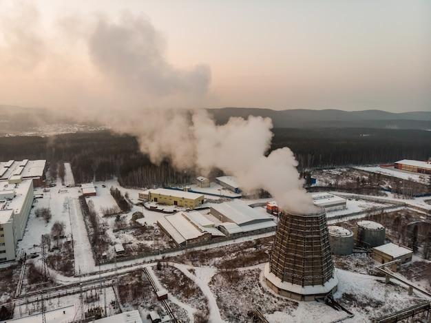Torre di raffreddamento tra le impostazioni di fabbrica