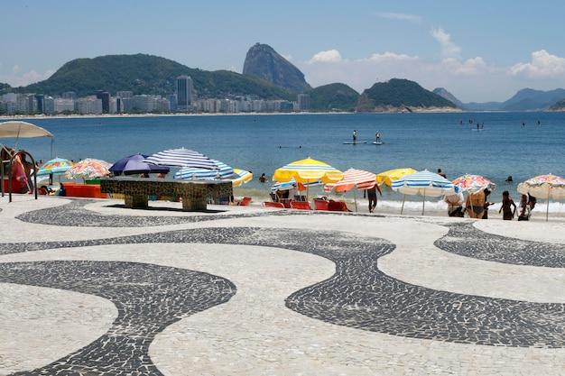 La spiaggia di copacabana