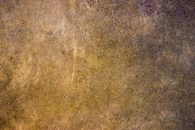 Piatto di rame, fondo di struttura di superficie di metallo ferroso