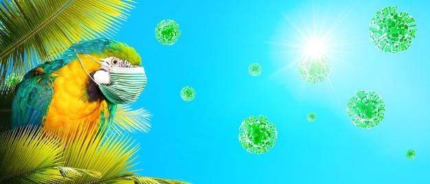Epidemia di coronavirus. viaggia al concetto di tempo di pandemia