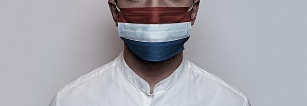 Pandemia di coronavirus. concetto di quarantena del virus corona, covid-19