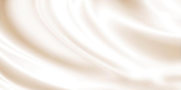 Disegno di sfondo crema cosmetica
