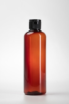 Bottiglie di plastica cosmetiche