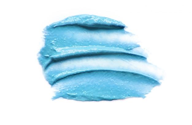 Texture cosmetica per viso e corpo. spa messa a fuoco selettiva.