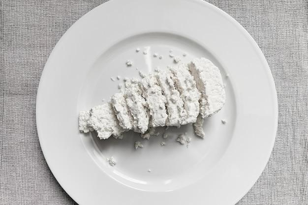 Ricotta per una sana colazione proteica