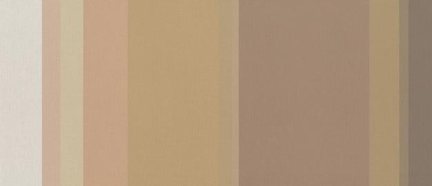 Trama del tessuto di cotone stampato con strisce colorate beige. carta da parati di sfondo.