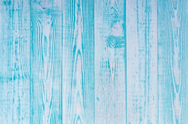Paese blu tavolo in legno texture di sfondo, colore romantico