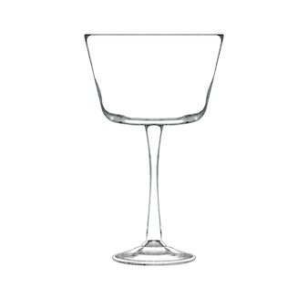 Bicchiere da coupé per champagne
