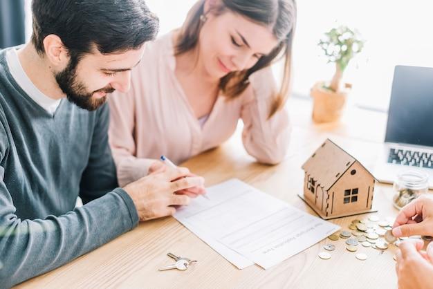 Accordo di firma delle coppie
