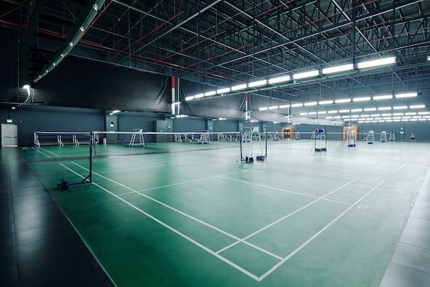 Campi per giocare a tennis e badminton
