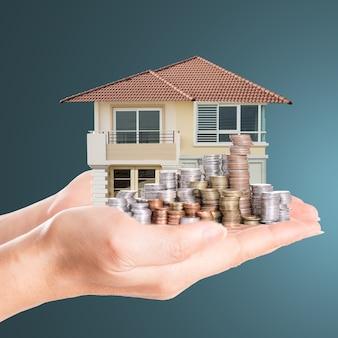 Copri la casa modello con i soldi del tuo deposito.