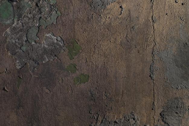 Sfondo muro di pietra incrinato, toni freddi