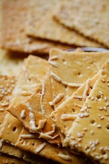 Biscotti cracker