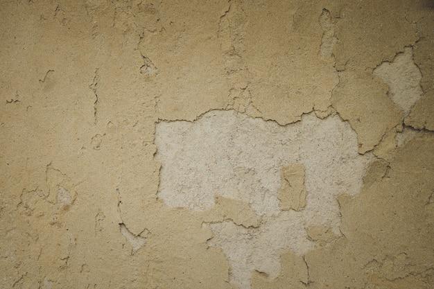 Crepe della grande parete dell'argilla del fondo di struttura