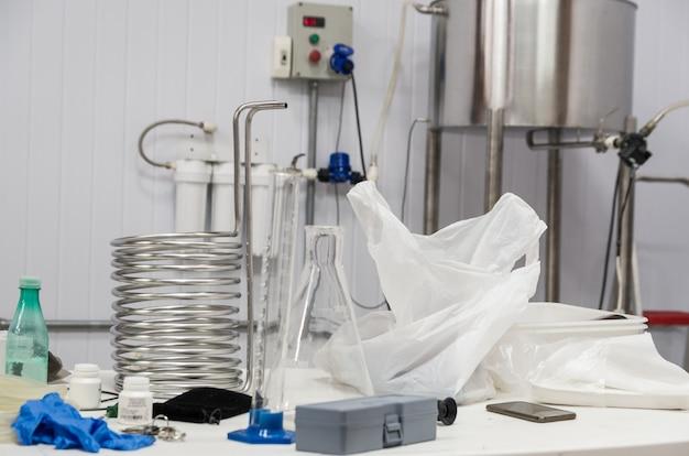 Attrezzature per la produzione di birra artigianale