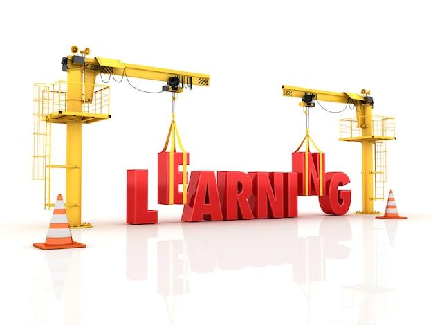 Gru che costruiscono la parola apprendimento