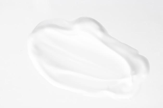 Sapone in crema disinfettante per il lavaggio delle mani o striscio cosmetico come detergente antibatterico e texture igienica shavin...