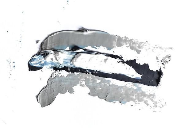 Pittura strutturata crema su sfondo senza soluzione di continuità, opere d'arte astratte