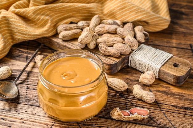 Burro di arachidi cremoso in barattolo