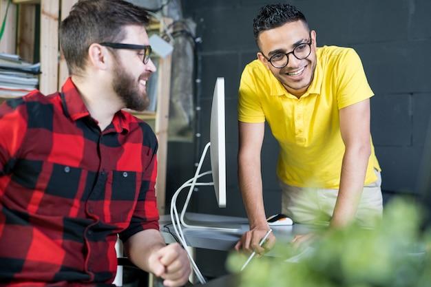 Sviluppatori it giovani e creativi