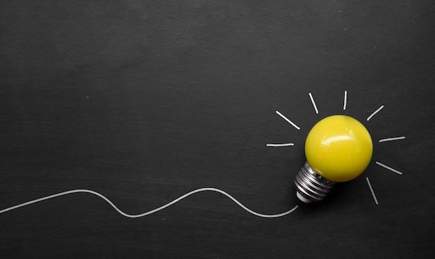 Ispirazione alla creatività, concetti di idee