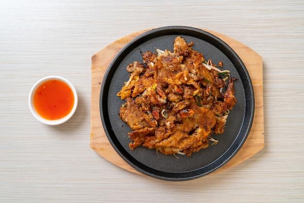 Frittella di cozze fritte croccanti