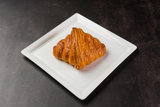 Pane croissant, dessert di pasticceria, cibo