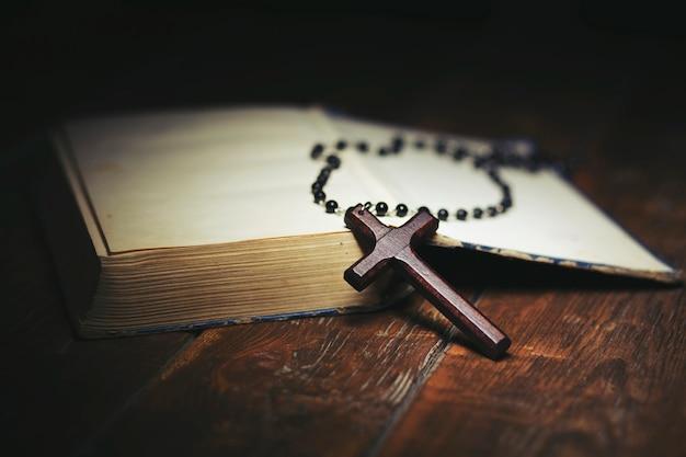 Croce sul libro