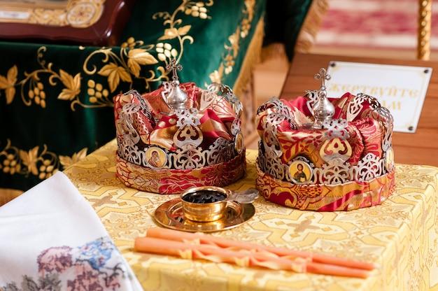 Matrimonio della corona, chiesa.