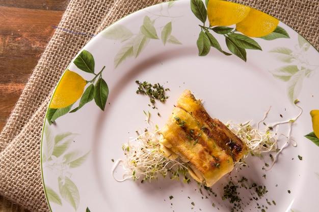 Torta salata croccante alla banana