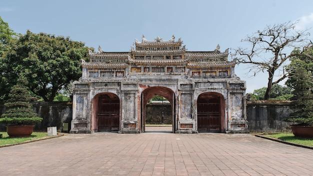 Cua tho chi gate, città imperiale, tonalità, vietnam