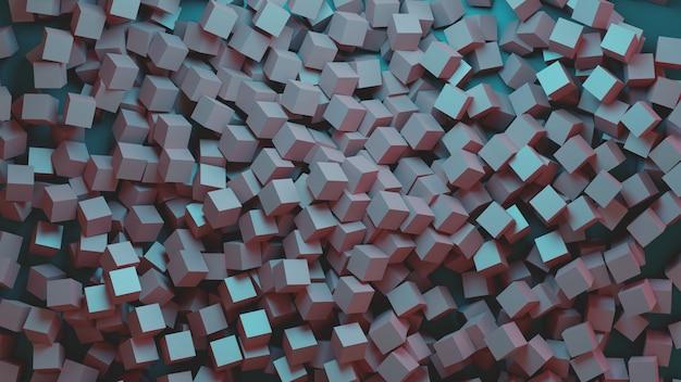 Sfondo di cubi di design