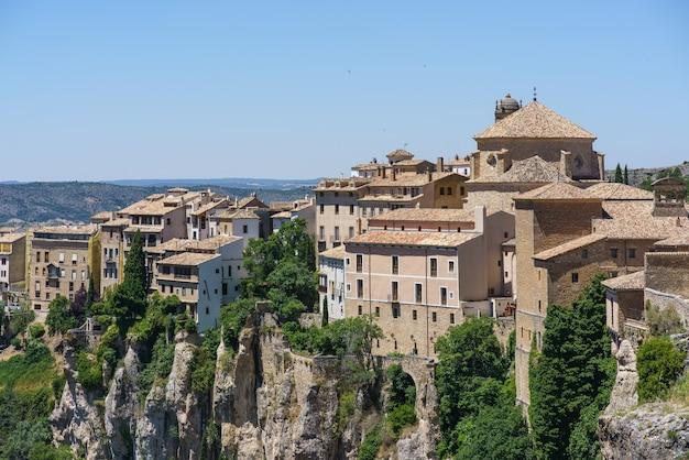 Cuenca castilla la mancha spagna, veduta aerea, chiesa di san pedro