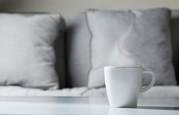 Tazza di caffè a casa concept