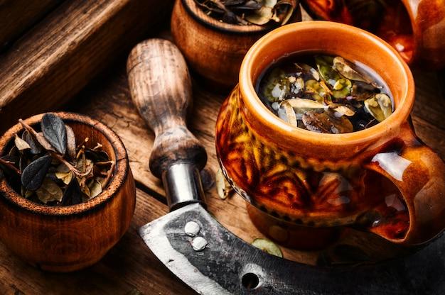 Tazza di tè sano