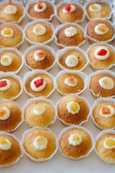 Cupcakes sul tavolo