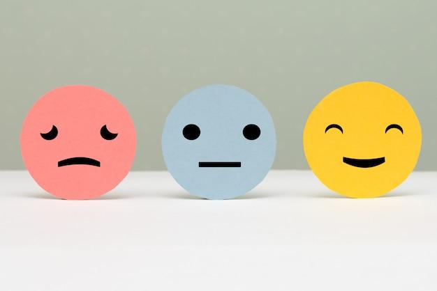 Concetti di valutazione del servizio clienti e sondaggio sulla soddisfazione.